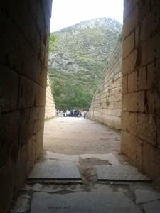 Izlaz iz Atrejeve grobnice