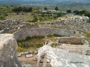 Parking - pogled iz Mikene