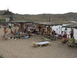 Partijanje na jezeru Kapchagai