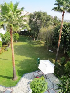 Hotelski park u Casablanci