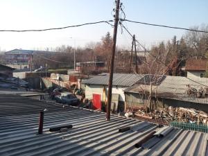 Pogled iz hostela