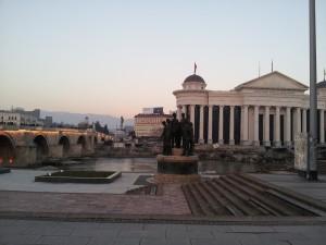 Glavni trg u Skopju