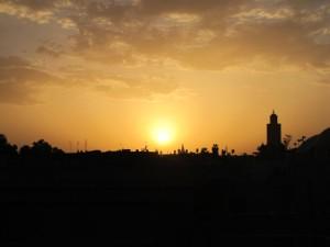 Zalazak sunca u Marrakech-u