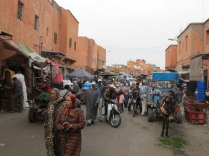 Idem prema trgu Jemaa El Fnaa