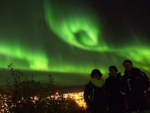 Aurora borealis 6. listopada 2015. (Lucije, ja i David)