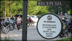 Hotelski parking - Kranjska Gora