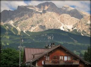 Pogled na Dolomite