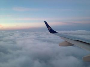 Air Astana u zraku