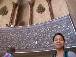 Casablanca 7 - unutrašnjost džamije