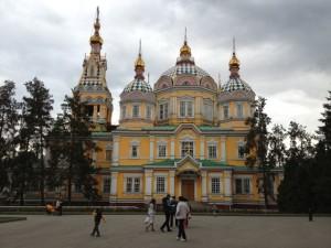 Najstarija katedrala u Almaty