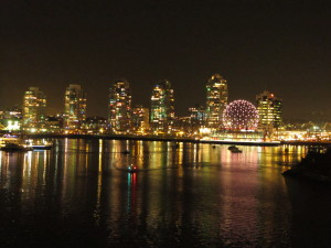 Vancouver noću