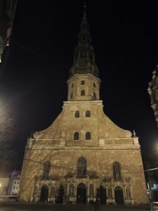 Crkva svetog Petra – izgrađena u 13. stoljeću kao katolička crkva, no od 16. stoljeća prebacili su je na luteranizam