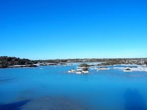 Plava laguna zahvaljujući modrozelenim algama