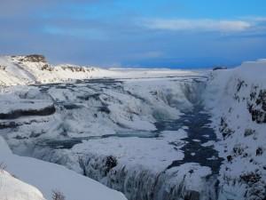 Vodopad Gulfoss na rijeci Hvita 1