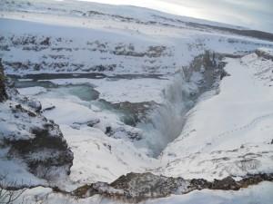 Vodopad Gulfoss na rijeci Hvita 2