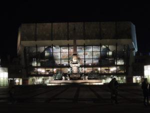 Gewandhaus je poznata koncertna dvorana i dom uglednog Gewandhause orkestra