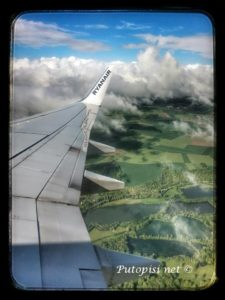 Pogled iz aviona negdje iznad Francuske