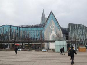 Renovirana zgrada Sveučilišta... moderna arhitektura za nekoga prekrasna, za nekog grozna, a ja oduševljen
