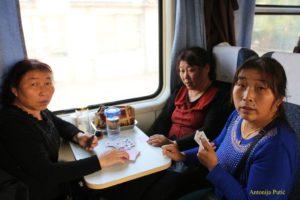 kartašice u vlaku