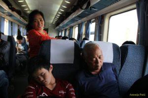 spavanje u vlaku