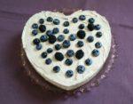Recepti - lagani ljubičasti cheesecake