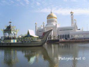 Brunei - dzamija