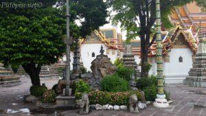 Detalj u Wat Pho-u