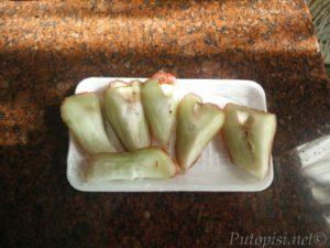 Voštana jabuka spremna za jelo