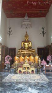 Wat Pho, još jedan kip Bude