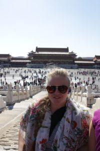 Evo i mene na Tiananmenu