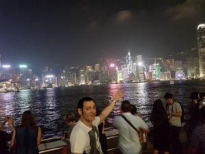 Ovo je Hong Kong noću