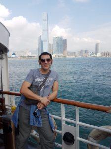 Plovim prema Hong Kongu