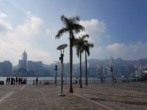 Tri palme i Hong Kong