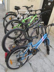 Putopis Prvić: Bicikli