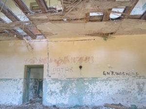 Putopis Prvić: ruševina Općenite puške škole