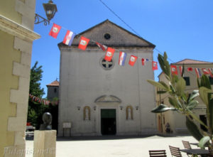 Putopis Burnum: Skradin - Crkva preobrazenja djevice Marije