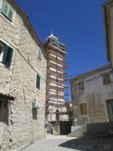 Putopis Burnum: Skradin - zvonik crkve
