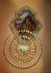Putopis Burnum: Skradin - freska svetog Jeronima