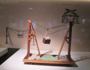 Putopis Prvić: prototip žičare, Memorijalni centar Faust Vrančića